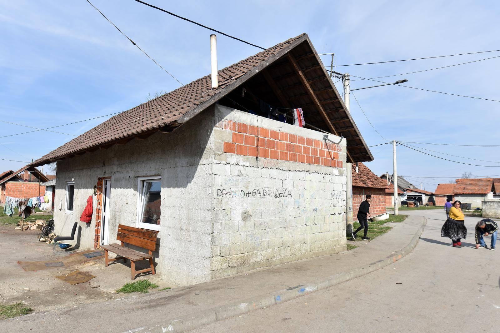 Kuća  u Piškorovcu gdje su dogodilo  ubojstvo