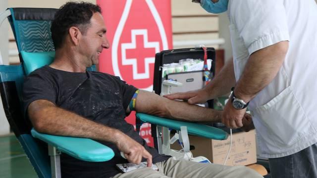 Crveni križ Vodice organizirao  je akciju darivanja krvi