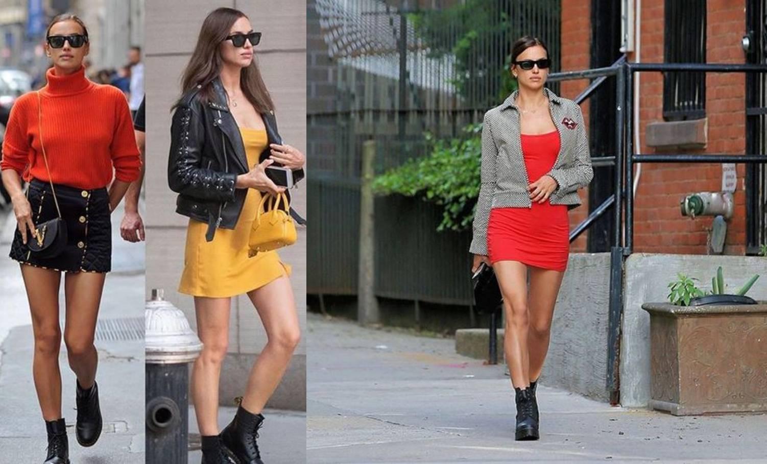 Lijepa Irina Shayk ima favorit kombinaciju: Minica plus Marte