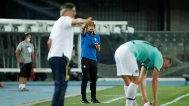 Jurić i Conte u žaru borbe pokraj crte: 'Nemoj me j**ati! Ušuti!'