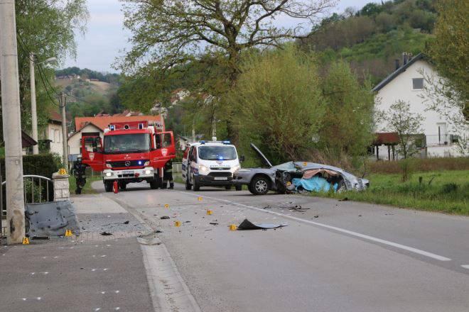U Zagorju je automobil sletio s ceste, poginuo je mladi vozač