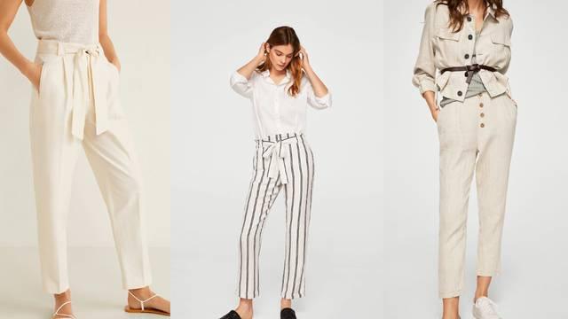 Lanene hlače - vole toplije dane, prirodne nijanse i sve trendove
