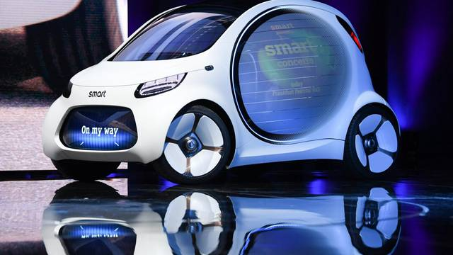 International Motor Show in Frankfurt/Main - Smart vision