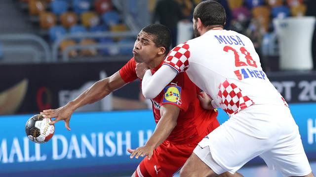 Kairo: Svjetsko prvenstvo u rukometu, Danska - Hrvatska