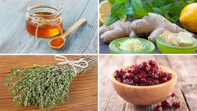 Hrana koja pomaže u borbi s migrenom i kašljem: Đumbir, majčina dušica, kurkuma, med
