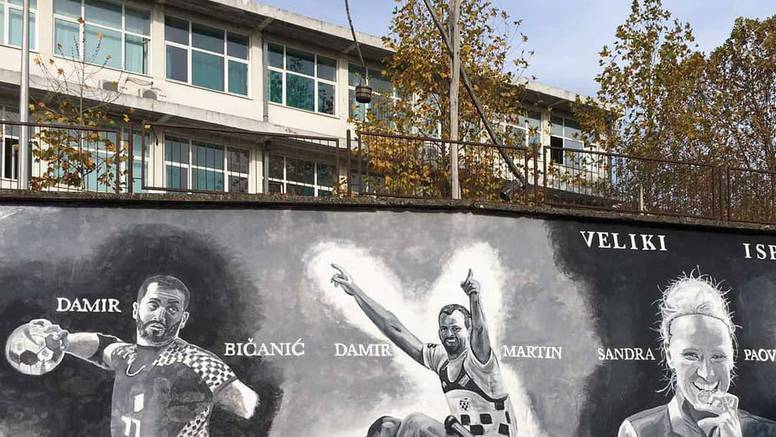 Damir Bičanić, Damir Martin i Sandra Paović dobili mural...