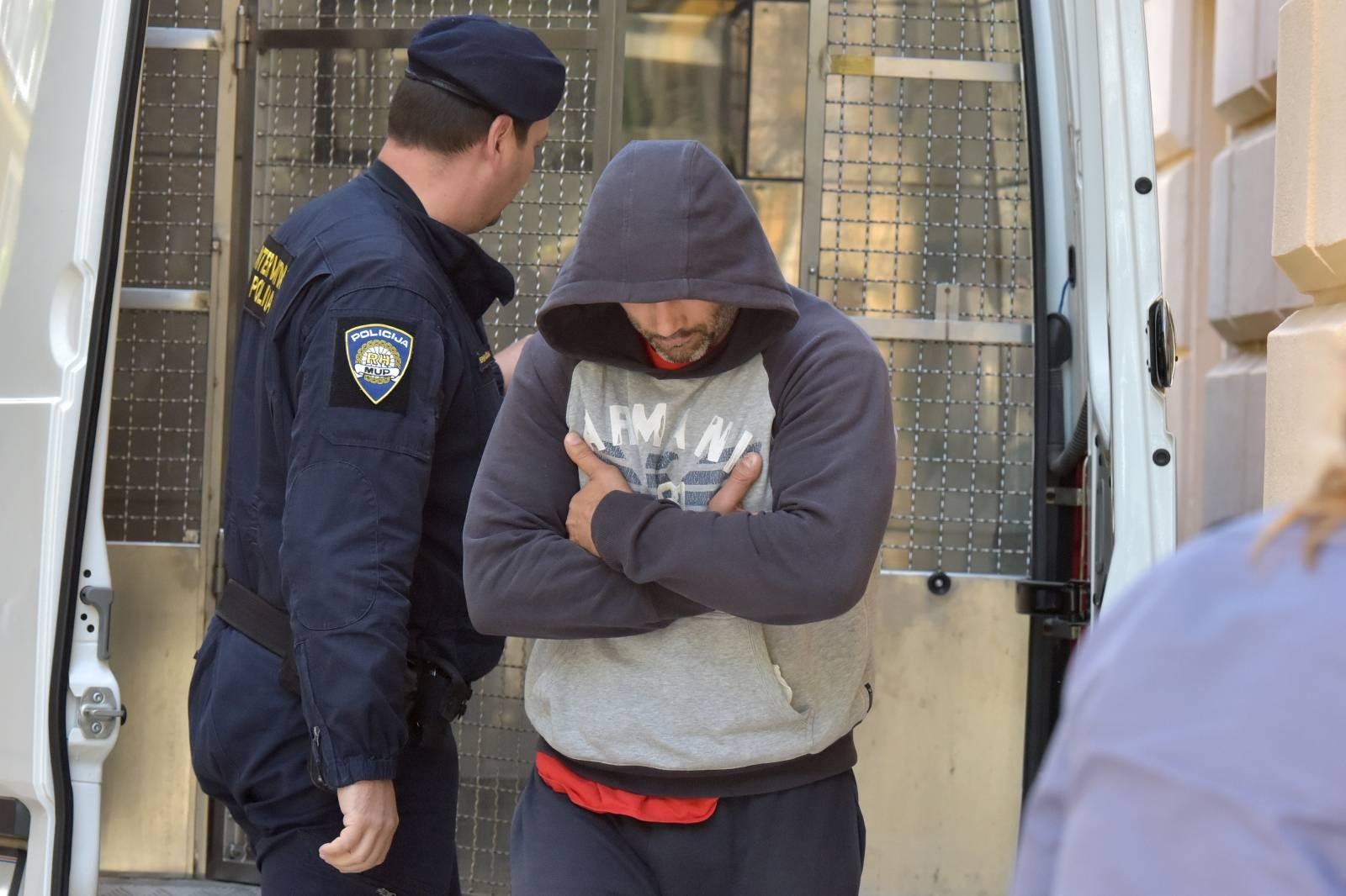 Zadar: Bivši policajac Vedran Ikić priveden istražnom sucu