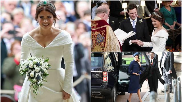 Kao iz bajke: Princeza Eugenie se udala, došlo je 850 gostiju