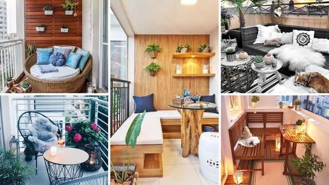 20 ideja za uređenje balkona - za uživanje u čaju tijekom zime