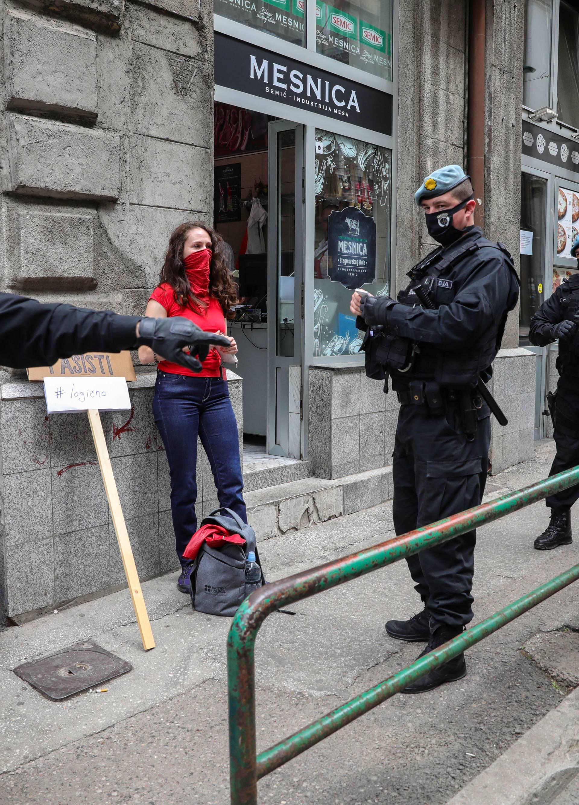 Sarajevo: Prosvjed antifašista protiv održavanja mise za žrtve na Bleiburgu