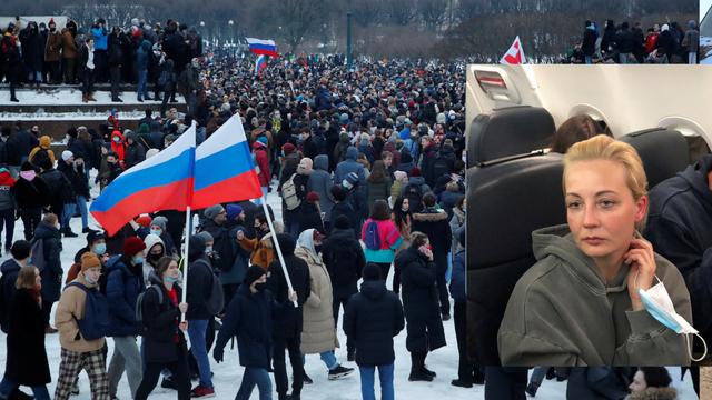 Prosvjednici u Rusiji došli do zatvora, viču 'Izađi, Ljoša!'