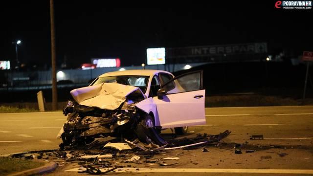 Nesreća u Koprivnici: Sudar dva auta, nema teže ozlijeđenih