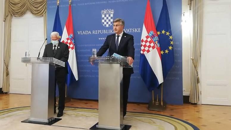 Plenković nakon sastanka: 'To nisu optužnice. Zašto je do ovog došlo ne bih želio spekulirati'