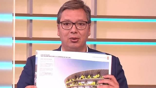Vučić pokazao srpski Wembley: Krećemo graditi, neće biti jeftin