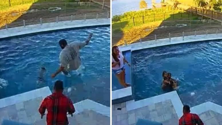 Drama NBA zvijezde: Spasio je svog sina od utapanja u bazenu