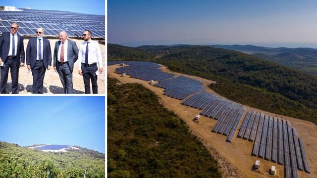 HEP na Visu otvorio najveću solarnu elektranu u Hrvatskoj