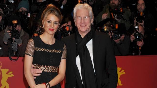 "67th Berlin International Film Festival. Festival Internazionale del Cinema di Berlino. Red Carpet film ""The Dinner""."