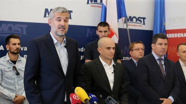 Zagreb: MOST predstavio svoju listu i suradnju s Hrvatskom republikanskom strankom