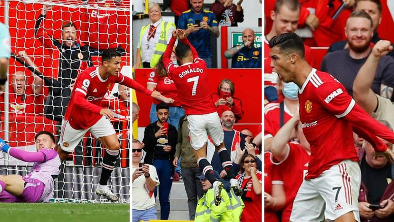 Pogledajte ih: Ronaldo je zabio dva u drugom debiju za United!