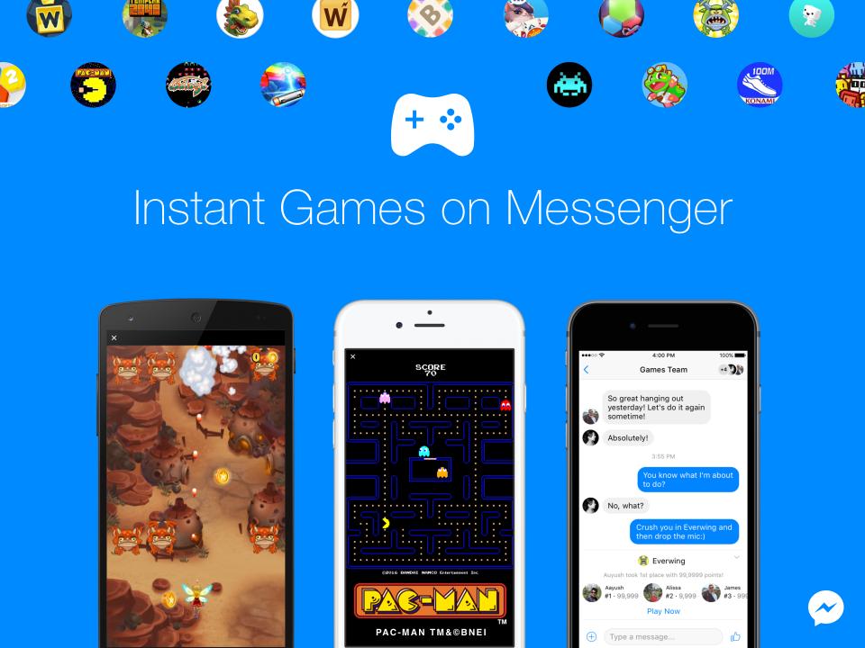 Sada ćete u Messengeru moći igrati Pac-Mana i hrpu klasika