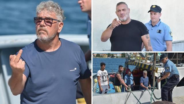 Kod Dugog otoka našli Talijane koji su lovili ribu: 'Vaffanculo!'