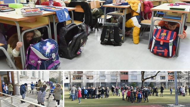 Novo polugodište, nove vježbe: 'Jako je stresno, ali škola je vesela zajednica u kojoj učimo'