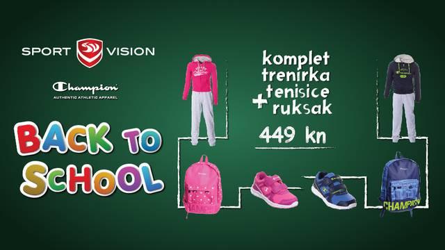 Opremite svoje školarce u Sport Visionu i uštedite 40%