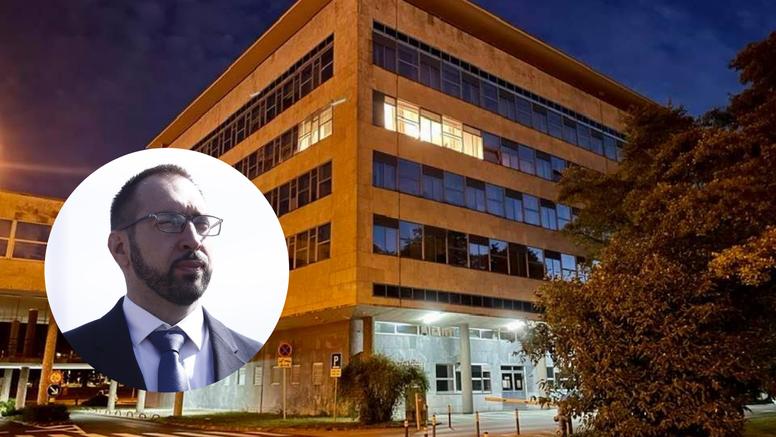 Dolenec objavila fotografiju Tomaševićevog ureda: Jedino svjetlo u gradskoj upravi