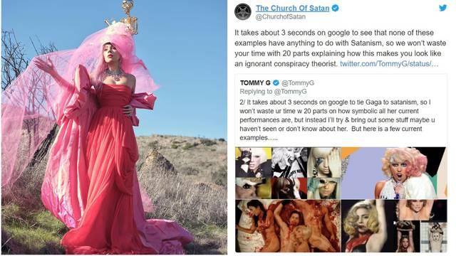 Sotonistička crkva ogradila se od Lady GaGe: 'Ona nije naša'