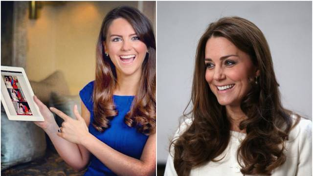 Kate Middleton ima dvojnicu: 'Na dan zaradim oko 9.000 kn'