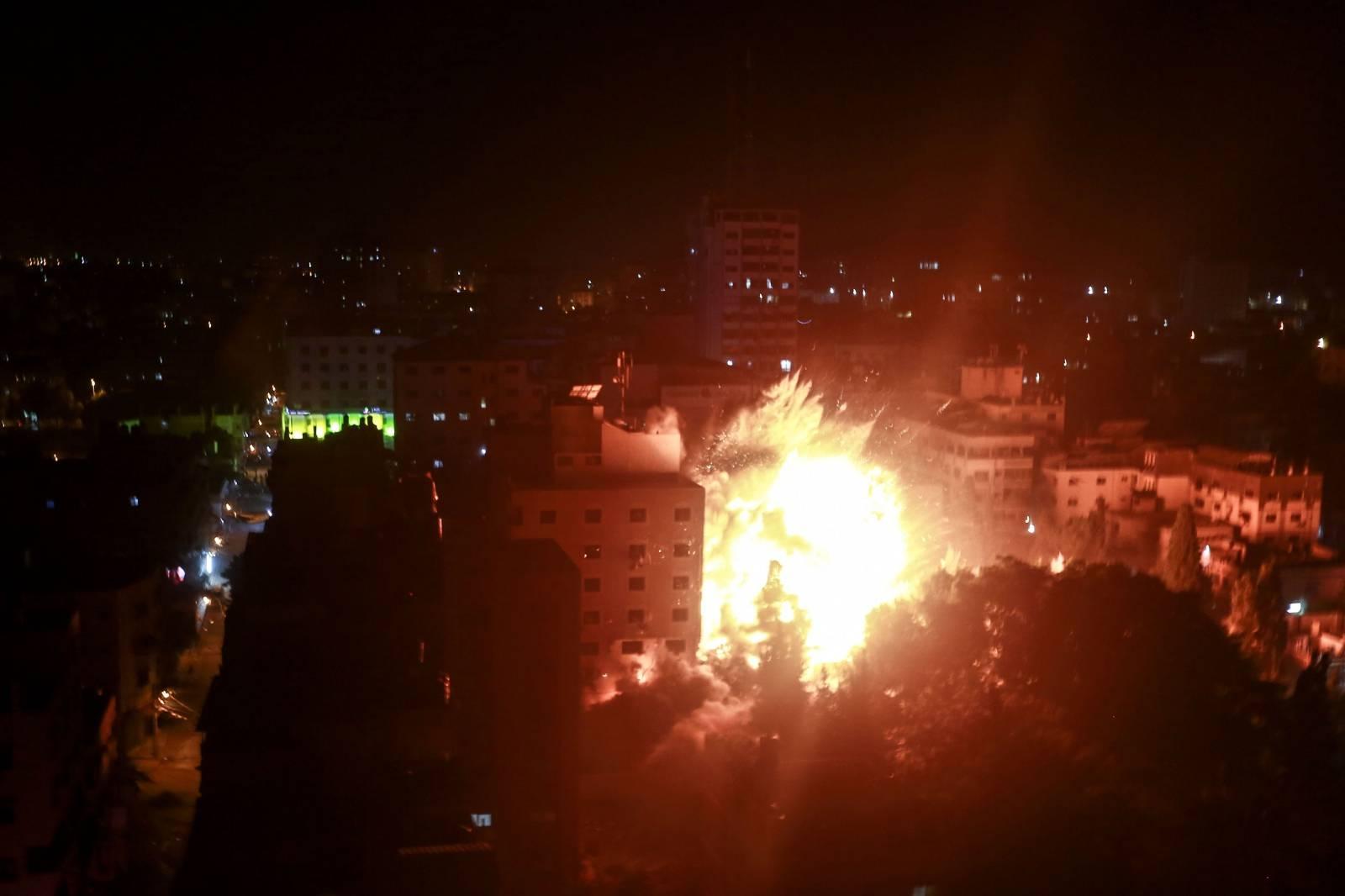 Israeli airstrikes in Gaza