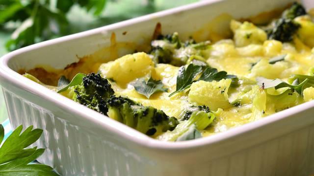Ponekad se može i bez mesa: Složenac od brokule i tjestenine