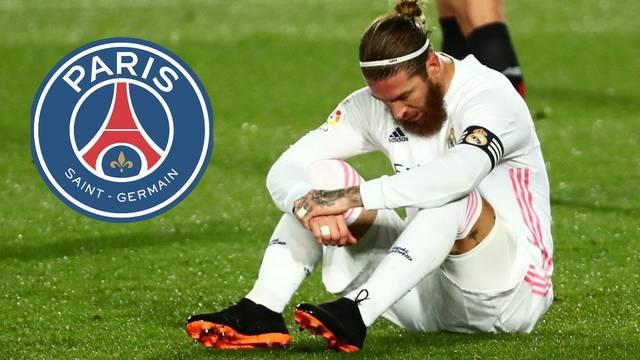 Bomba iz Madrida: Ramos nije trenirao, kapetan odlazi u PSG?