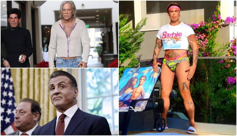 Botoks i silikoni: Popravljaju se Stallone, Ciganović i Travolta...