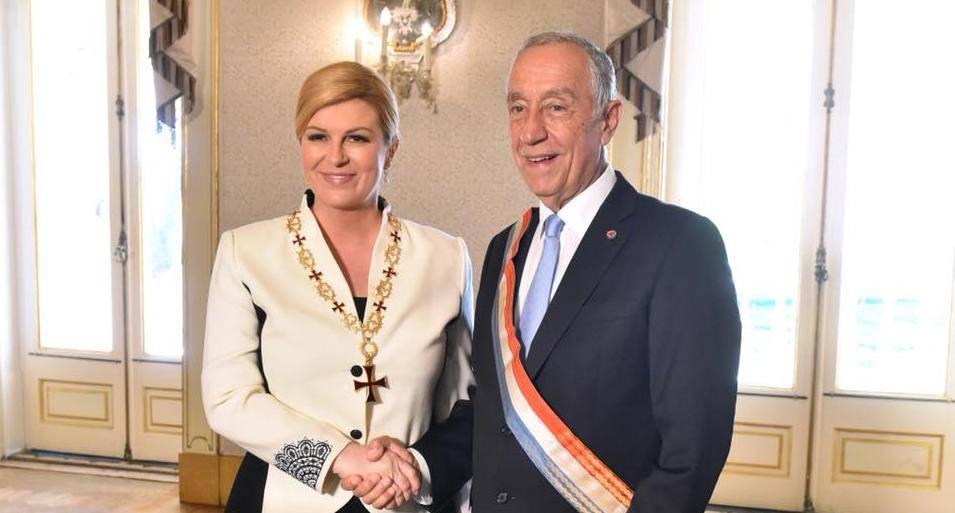 Predsjednica Grabar Kitarović u službenom posjetu Portugalu