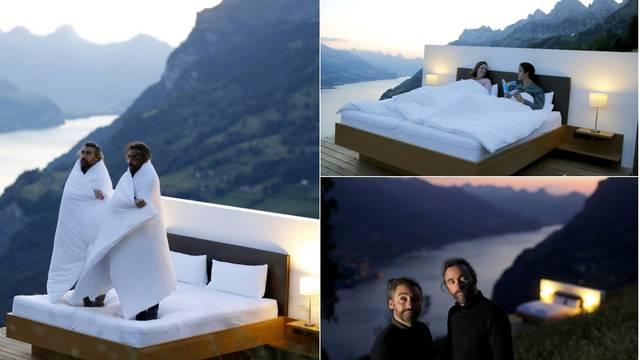 Nema veće izolacije: Unajmite krevet usred švicarskih Alpi s 'pogledom od milijun dolara'