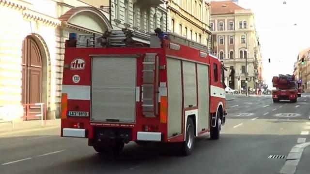 Spasili je vatrogasci: Žena upala u potok, nije mogla izaći