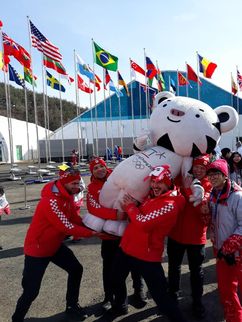 'U Pyeongchangu je minus 20, ali mi smo stigli i zaplesati...'