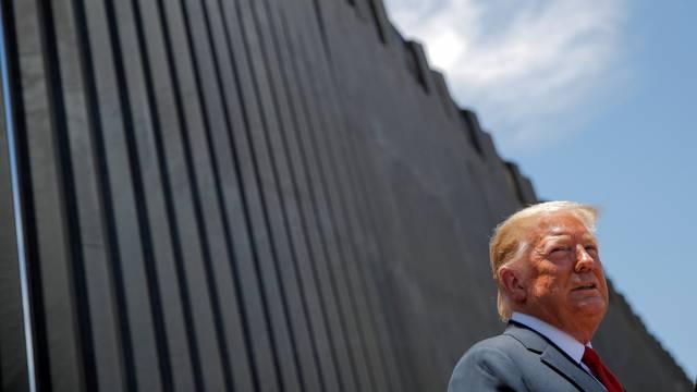 FILE PHOTO: U.S. President Trump visits the U.S.-Mexico border in San Luis, Arizona