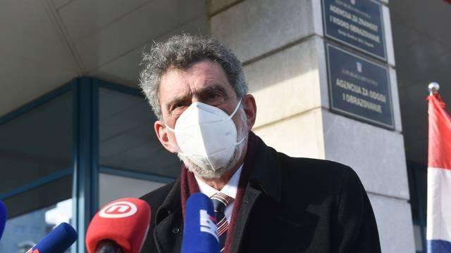 Zagreb: Ministar Radovan Fuchs odrzžao konferenciju za medije