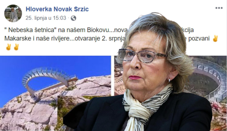 Hloverka opet promovira Makarsku:  'Ukrala mi je slike i objavila ih na svom Facebooku'
