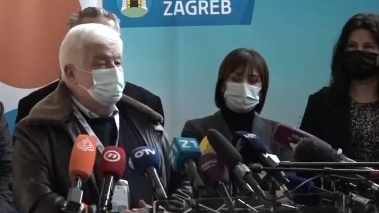 Masovno cijepljenje u Zagrebu: 'Ljudi čekaju u redu, danas se očekuje veći odaziv nego jučer'