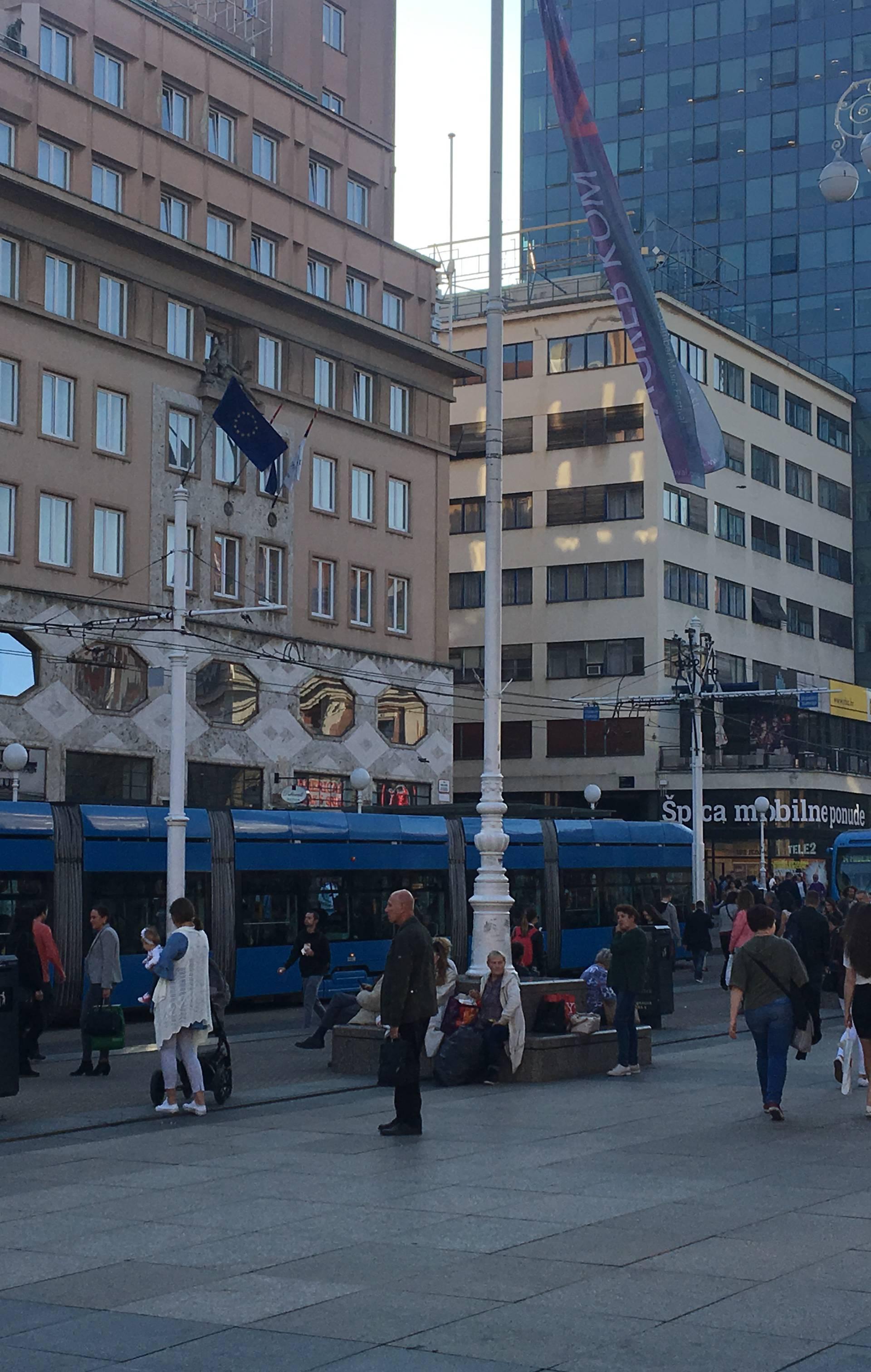 Kolaps tramvajskog prometa u centru Zagreba, nestalo struje