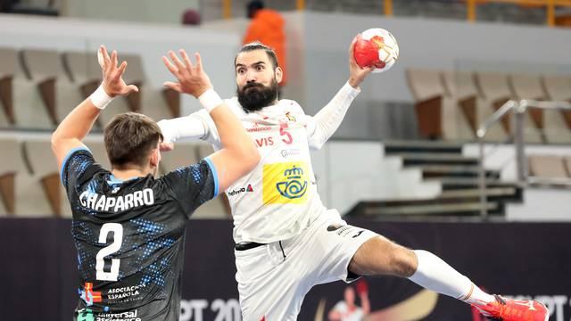 2021 IHF Handball World Championship - Main Round Group 1 - Uruguay v Spain