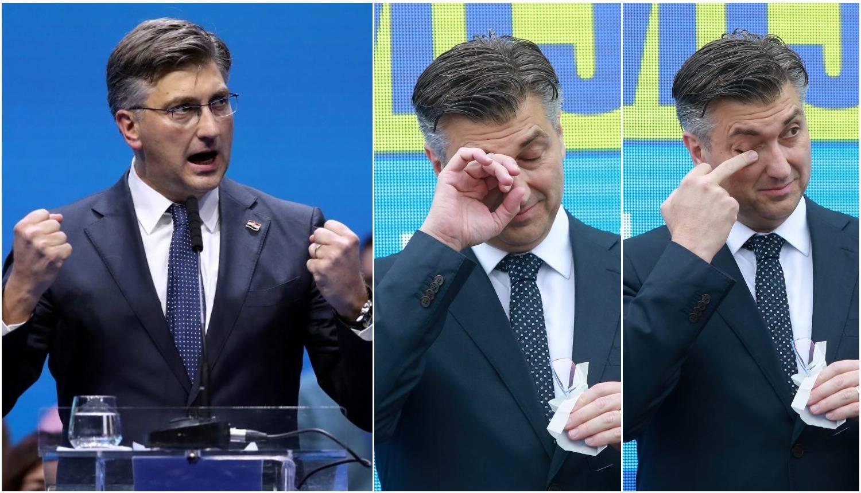 Drukčiji Plenković: 'Grmio' je s pozornice i sam sebi zapljeskao