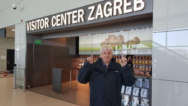 Teoretičar zavjera: David Icke stigao na zagrebački aerodrom