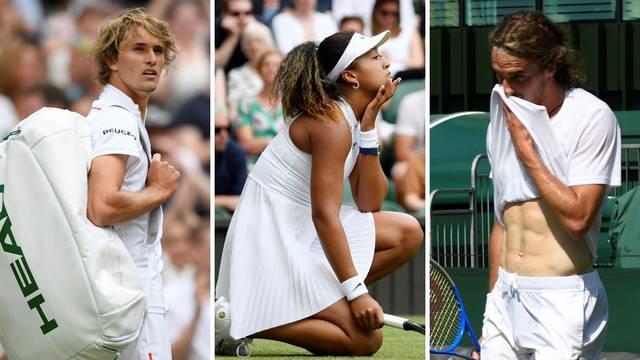 Loš start mladih nada tenisa: Ispali Tsitsipas, Zverev i Osaka