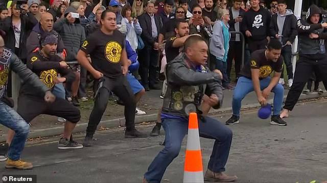 Skupina Maora odala je počast žrtvama i njihovim obiteljima