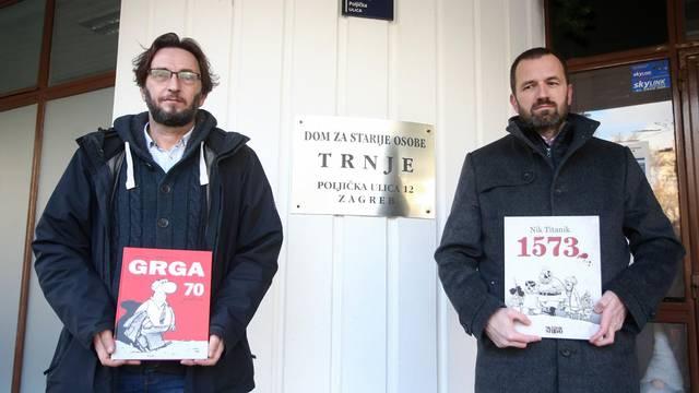 Nik Titanik i Skok donirali 110 knjiga domovima za starije