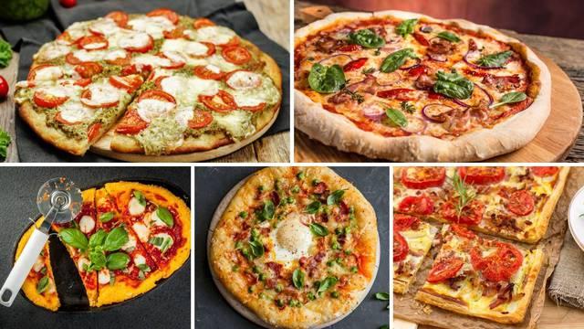 10 domaćih recepata za pizzu:  Za uvijek odlično tijesto i super nadjeve - od klasične do ljute